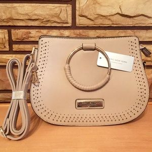 NWT Marc New York taupe cross body bag handbag